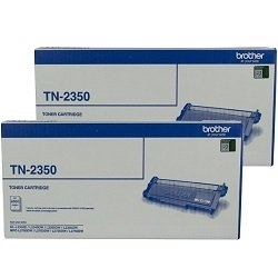 Brother TN-2350 2 Pack Bundle (Genuine)