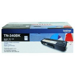 Brother TN-340BK Black (Genuine)