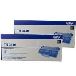 Brother TN-3440 2 Pack Bundle (Genuine)
