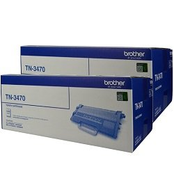 Brother TN-3470 2 Pack Bundle (Genuine)