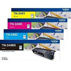 Brother TN-349 4 Pack Bundle (Genuine)
