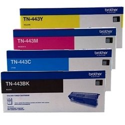 Brother TN-443 4 Pack Bundle (Genuine)