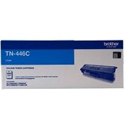 Brother TN-446C Cyan Super High Yield Toner Cartridge (Genuine)