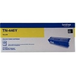 Brother TN-446Y Yellow Super High Yield Toner Cartridge (Genuine)