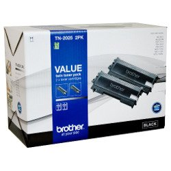 Brother TN-2025 2 Pack Bundle (Genuine)