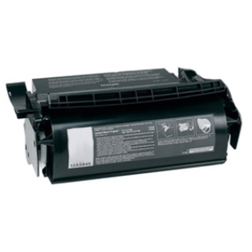 Remanufactured 12A7462 Black High Yield title=