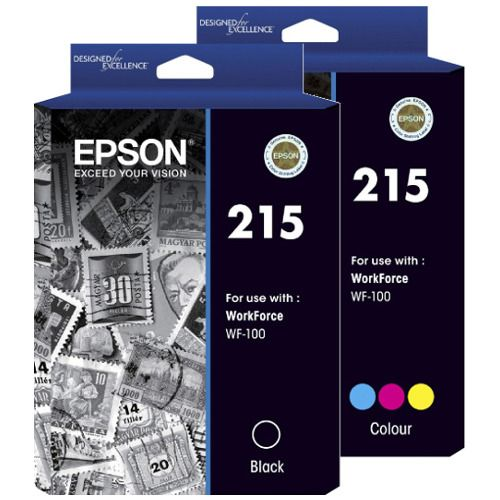 Epson 215 2 Pack Bundle (Genuine) title=