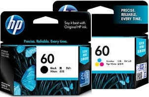 HP 2-Pack 60 Value Pack Ink Cartridge Genuine