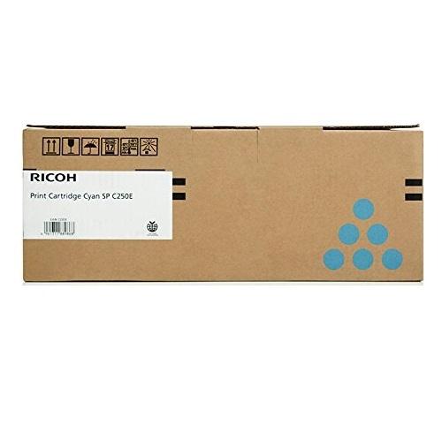 Ricoh 407548 Cyan Toner Cartridge Genuine