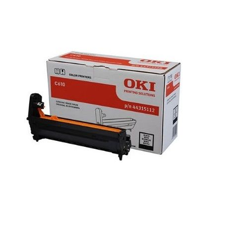 Oki 44315112 Black Drum Unit title=