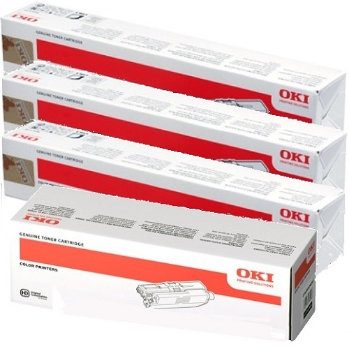 Oki 8-Pack 4497354# Bundle Toner Cartridges Genuine