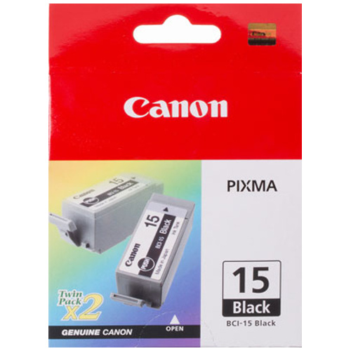 DISCONTINUED - Canon BCI-15 Black (Genuine) Ink Cartridge