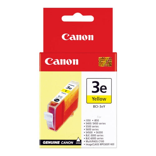 Canon BCI-3eY Yellow (Genuine) title=