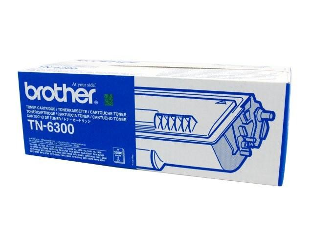 Brother TN-6300 Black Toner Cartridge Genuine