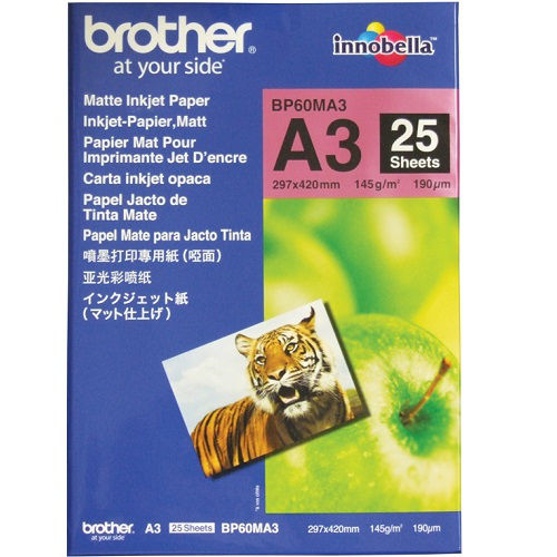 Brother BP60MA3 White A3 Specialty Paper