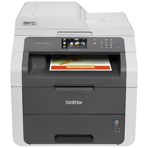 DISCONTINUED - Brother MFC-9340CDW Multifunction Colour Laser Wireless Printer + Duplex title=