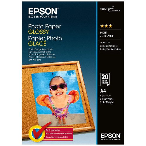 Epson S042544 5x7 inch Glossy Photo Paper title=