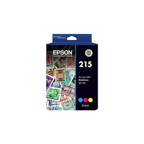 Epson 215 Colour (C13T216092) (Genuine) title=