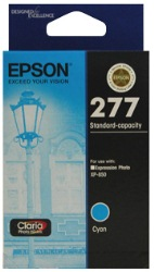 Epson 277 Cyan Ink Cartridge Genuine (C13T277292)