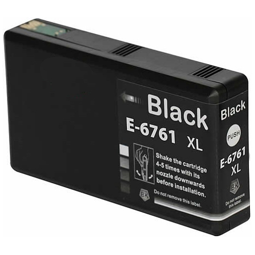 Compatible 676XL Black High Yield (C13T676192) title=
