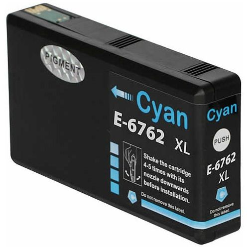 Compatible 676XL Cyan High Yield (C13T676292) title=