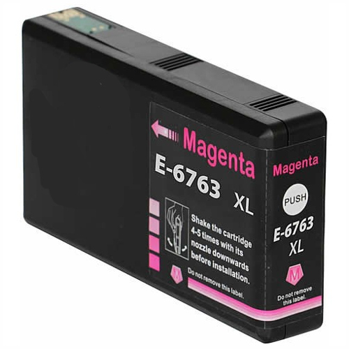 Compatible 676XL Magenta High Yield (C13T676392) title=