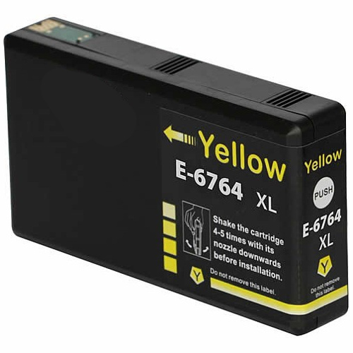 Compatible 676XL Yellow High Yield (C13T676492) title=