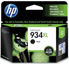 HP 934XL Black Ink Cartridge Genuine (C2P23AA)