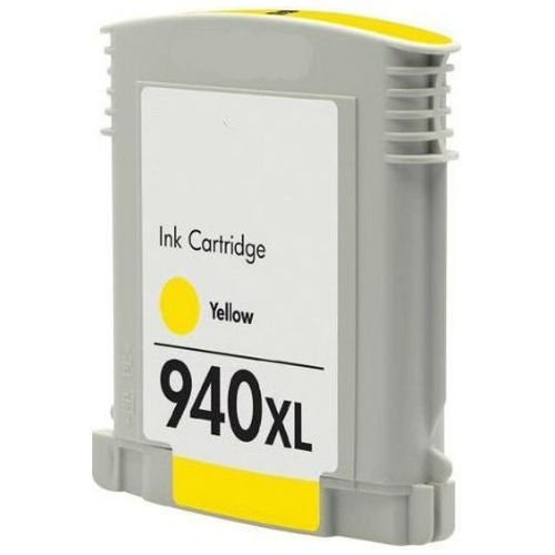 Remanufactured 940XL Yellow High Yield (C4909AA) title=