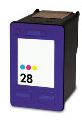Remanufactured 28 Colour Ink Cartridge (C8728AA)