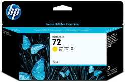 HP 72 Yellow Ink Cartridge Genuine (C9373A)
