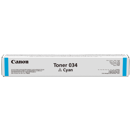 Canon CART034C Cyan (Genuine) title=