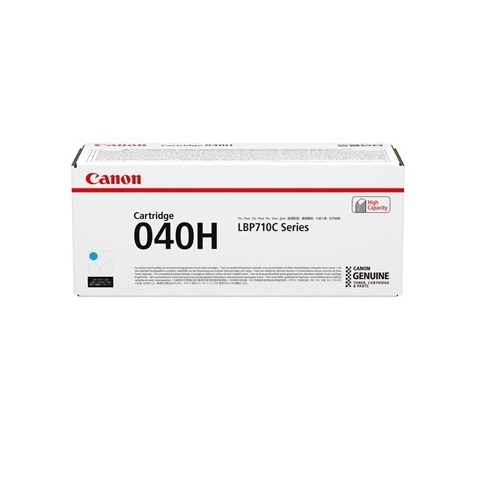Canon CART040HC Cyan High Yield (Genuine) title=
