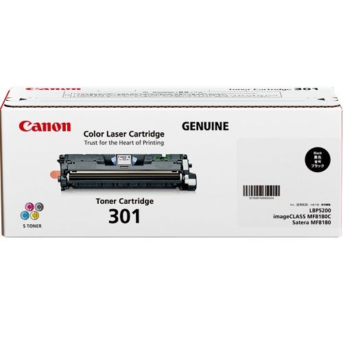 DISCONTINUED - Canon CART301BK Black (Genuine) title=