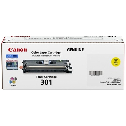 Canon CART301Y Yellow (Genuine) title=