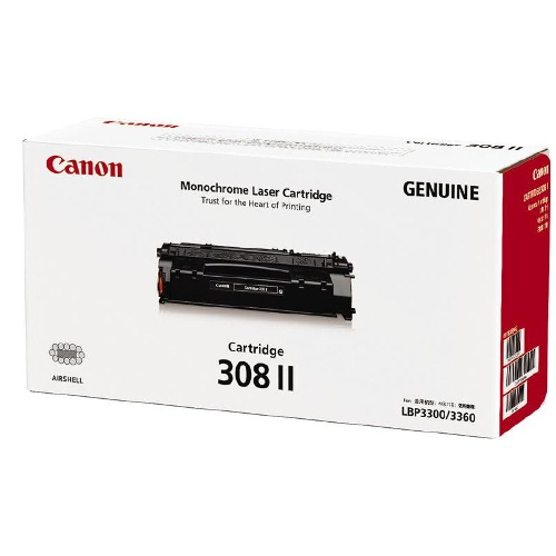 Canon CART308II Black High Yield (Genuine) title=