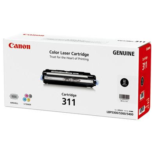 DISCONTINUED - Canon CART311BK Black (Genuine) title=