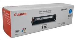 Canon CART316C Cyan Toner Cartridge Genuine