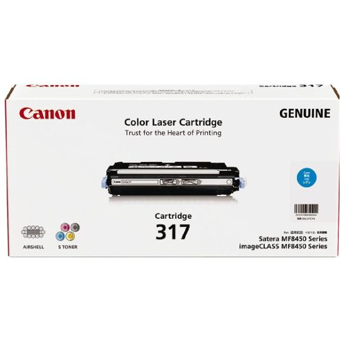 Canon CART317C Cyan (Genuine) title=