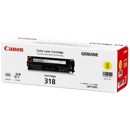 Canon CART318Y Yellow (Genuine) title=