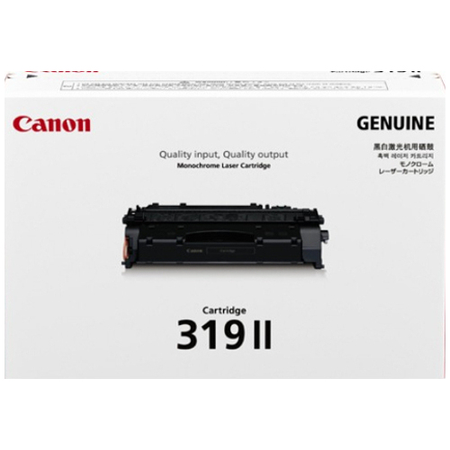 Canon CART319II Black High Yield (Genuine) title=