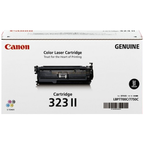 Canon CART323IIBK Black High Yield (Genuine) title=