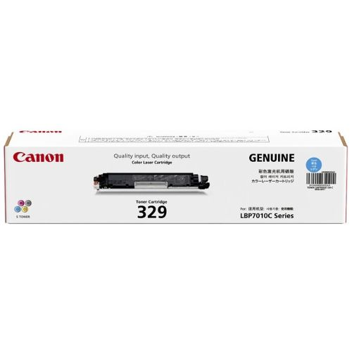 Canon CART329C Cyan (Genuine) title=