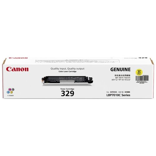 Canon CART329Y Yellow (Genuine) title=