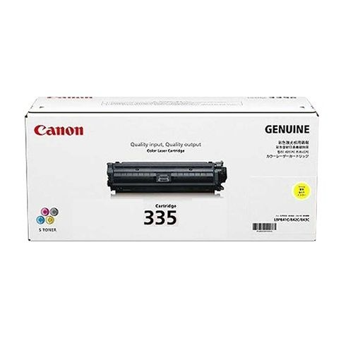 Canon CART335Y Yellow (Genuine) title=