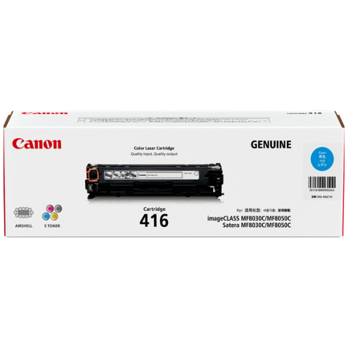 Canon CART416C Cyan (Genuine) title=