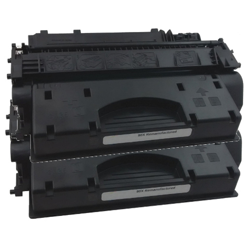 Remanufactured 80X (CF280X) 2 Pack Bundle title=