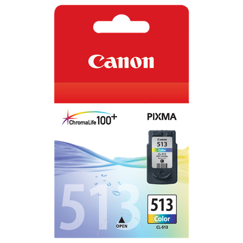 Canon CL-513 Colour High Yield (Genuine) title=