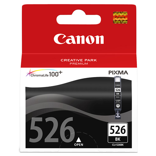 Canon CLI-526BK Photo Black (Genuine) title=