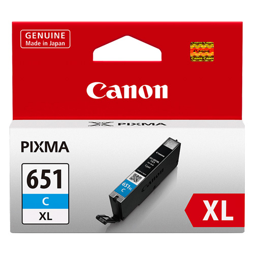 Canon CLI-651XLC Cyan High Yield (CLI-651XLC) (Genuine) title=